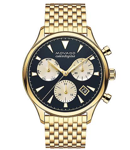 Movado Men's Heritage Series Calendoplan Chronograph Bracelet Watch
