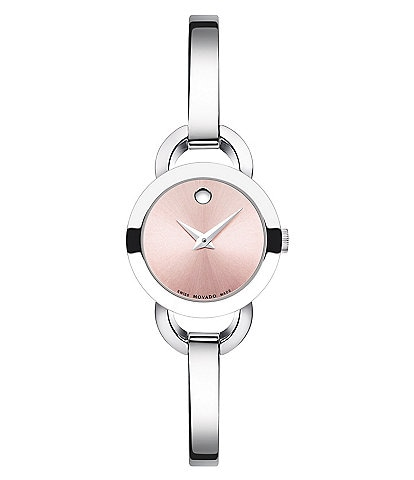 Movado Rondiro Stainless Steel Swiss Quartz Watch