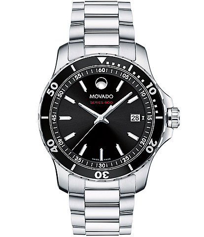 Movado SERIES 800 Men's Stainless Steel Watch