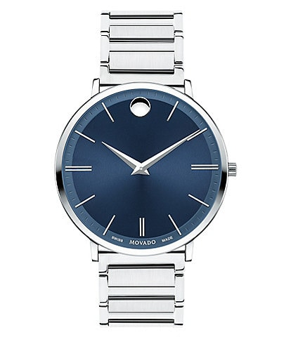 Movado Swiss Quartz Movement Ultra Slim Watch
