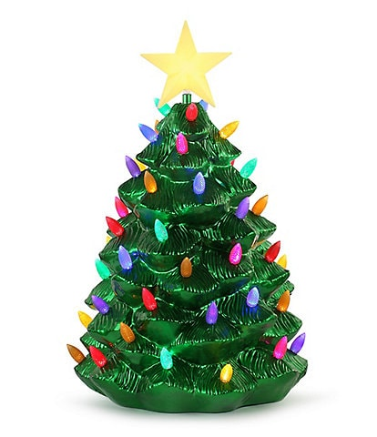 Mr. Christmas 24#double; Outdoor Blow Mold Nostalgic Tree