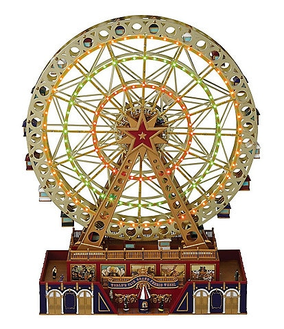 Mr. Christmas LED Lighted & Animated World's Fair Ferris Wheel