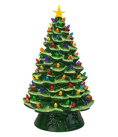 Mr. Christmas Nostalgic Collection 18#double; Two-Toned Christmas Tree
