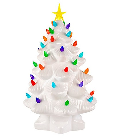 Mr. Christmas Nostalgic Collection White Christmas Tree