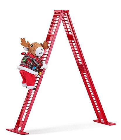 Mr. Christmas Tabletop Super Climbing Animated Reindeer