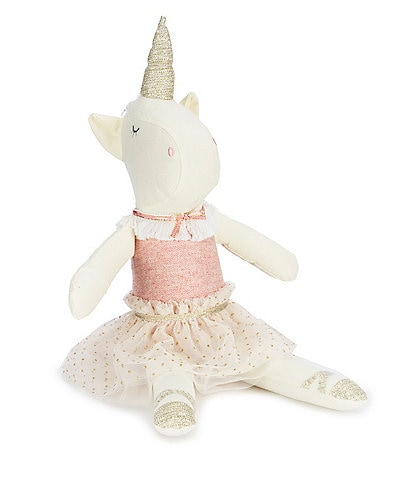 Mud Pie 16#double; Plush Unicorn