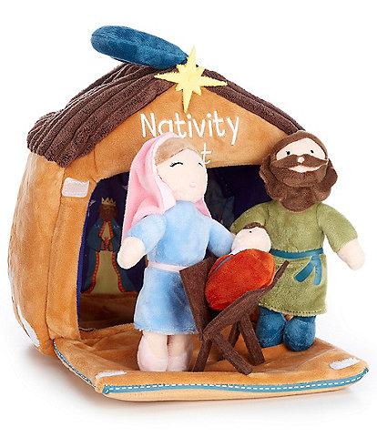 Mud Pie Baby Nativity Set Plush