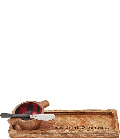 Mud Pie Check Dip And Appetizer Set