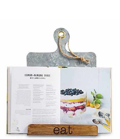 Mud Pie Circa Eat Recipe Cookbook Holder