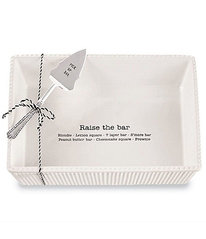 Mud Pie Dessert Bar Baker Set