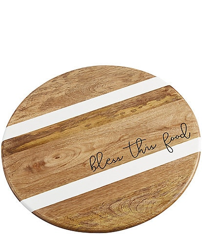 Mud Pie Festive Fall Collection Bless Food Lazy Susan