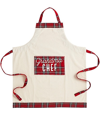 Mud Pie Gifts To Go Collection Grandma Chef Holiday Apron