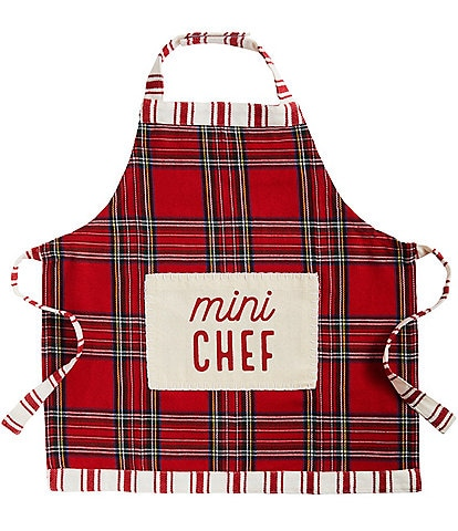 Mud Pie Gifts To Go Collection Mini Chef Holiday Apron