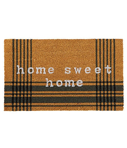 Mud Pie Outdoor Living Collection Home Sweet Door Mat