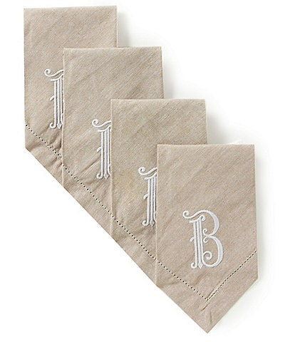 Mud Pie Initial Napkin Set
