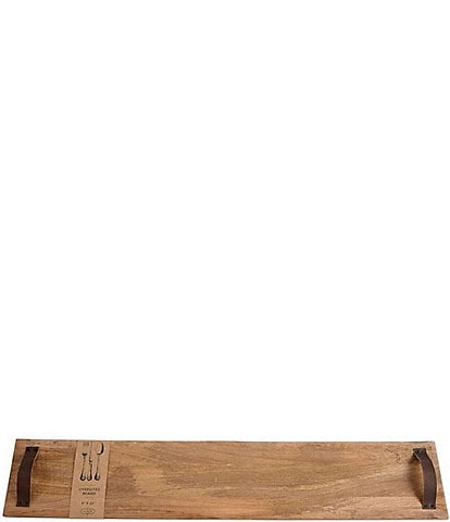 Mud Pie Long Wood Board
