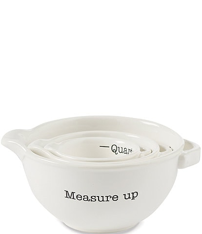 Mud Pie Measuring Cup Set