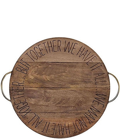 Mud Pie Together Sentiment Lazy Susan