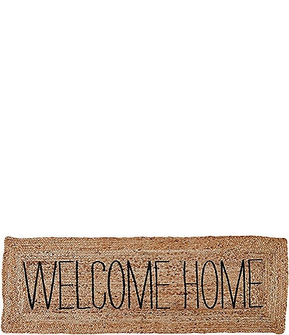 Mud Pie Veranda Collection Welcome Home Long Mat