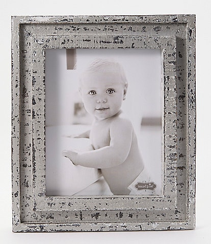 Mud Pie Vintage Farmhouse Collection Distressed Wood Frame