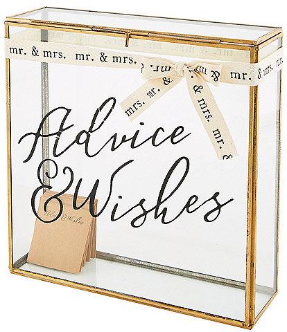 Mud Pie Wedding Collection Advice Keepsake Box Set