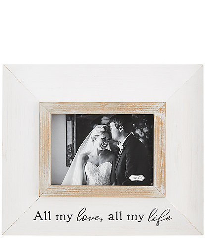 Mud Pie Wedding Collection All My Love 5#double; x 7#double; Frame