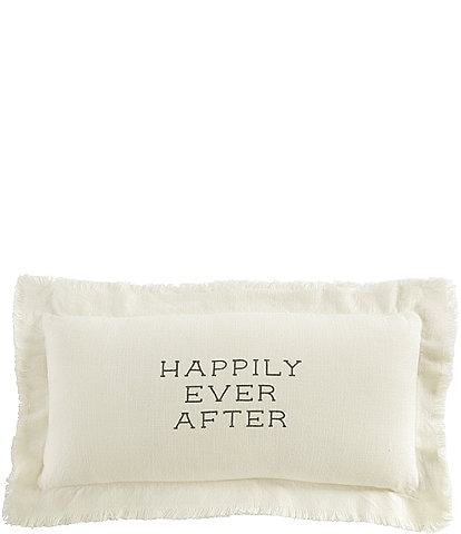 Mud Pie Wedding Collection Happily Ever After Pillow