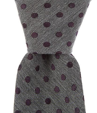 Murano Big & Tall Comal Dot Narrow 3 1/8#double; Tie