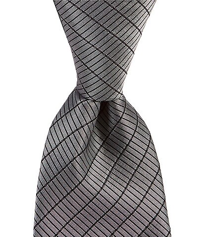 Murano Big & Tall Irving Solid Non-Solid Traditional 3 1/8#double; Silk Tie