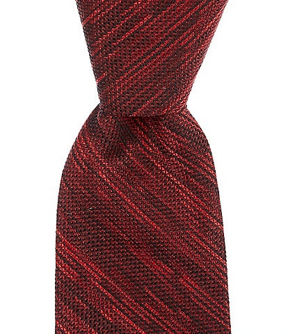 Murano Big & Tall Oberlin Solid Non-Solid Traditional 3 1/8#double; Silk Tie