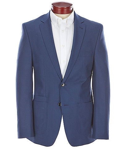 Murano Collezione Slim-Fit Performance Bi-Stretch Wool Blend Suit Separates Blazer