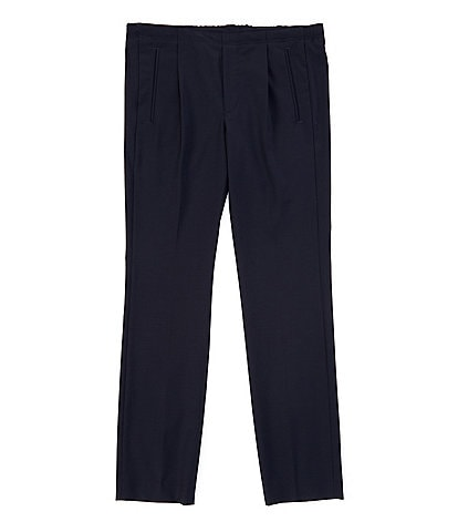 Murano Evan Extra Slim-Fit Pleated Front Drawstring Pants