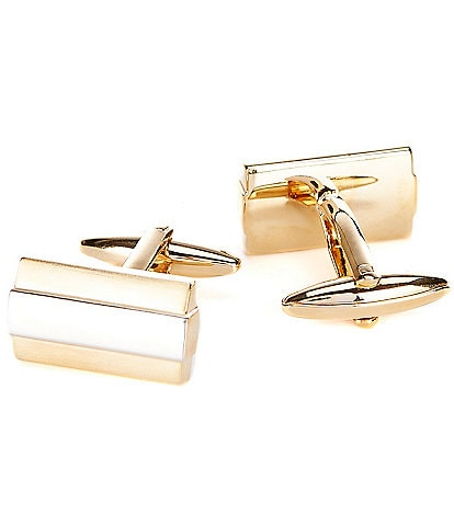 Murano Gold & Silver Tone Cuff Links