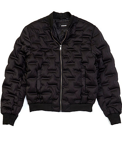 Murano Heat Sealed Quilted Bomber Jacket