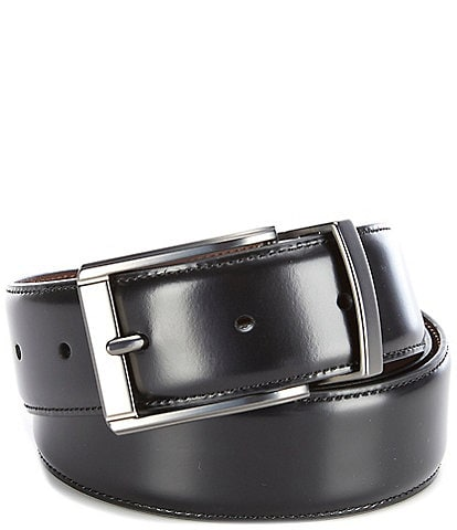 Murano Horns Reversible Leather Belt
