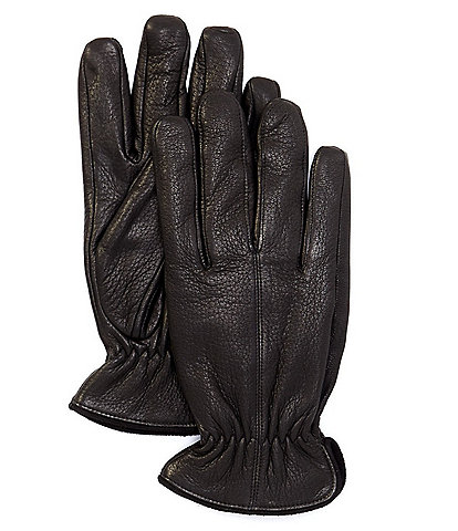Murano Men's Deerskin Leather Glove With Suede Trim