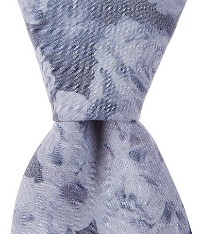 Murano Nirwood Floral Narrow 2 3/4#double; Cotton Tie