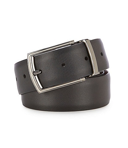 Murano Nocturne Reversible Leather Belt