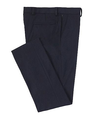Murano Performance Stretch Evan Extra Slim-Fit Flat-Front Suit Separates Dress Pants