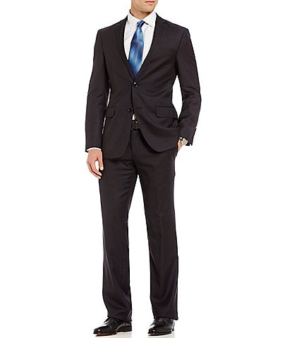 Murano Slim-Fit Checked Single-Breasted Wool Suit