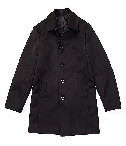 Murano Mac Button Front Trench Jacket