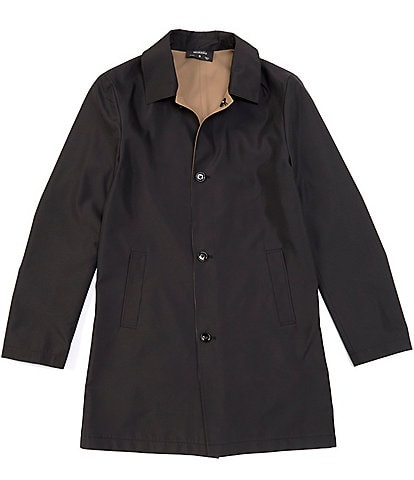 Murano Slim-Fit Reversible Mac Button Front Jacket