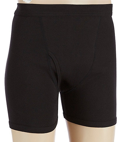 Murano Solid Cotton Boxer Briefs 2-Pack