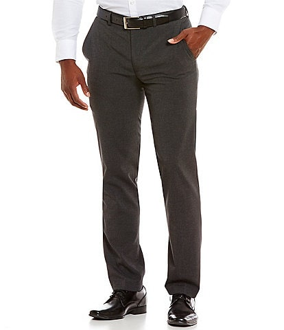 Murano Wardrobe Essentials Alex Modern Slim Fit Flat-Front Stretch Waistband Suit Separate Pants