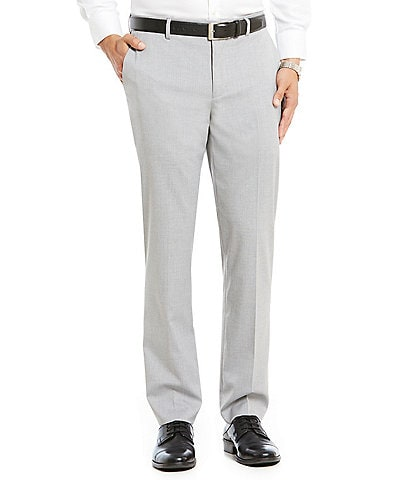 af70798a82b Murano Wardrobe Essentials Alex Modern Slim Fit Flat-Front Stretch  Waistband Suit Separate Pants