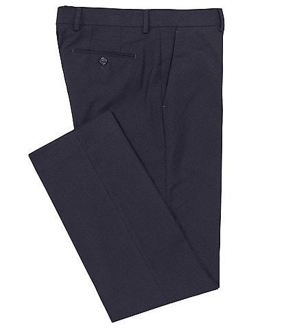 Murano Wardrobe Essentials Alex Slim-Fit Flat-Front TekFit Waistband Suit Separates Dress Pants