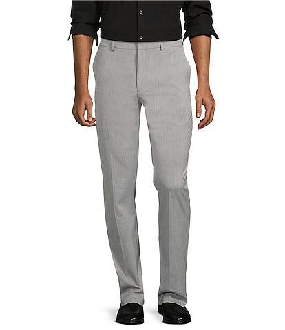 Murano Wardrobe Essentials Evan Extra Slim-Fit Flat-Front TekFit Waistband Suit Separates Dress Pants