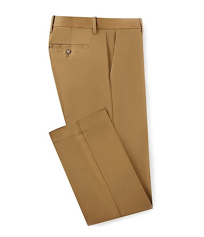 256e7597 Murano Wardrobe Essentials Regular-Fit Flat-Front Chino Dress Pants