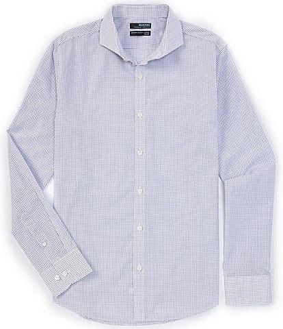 Murano Wardrobe Essentials Slim-Fit Long-Sleeve Woven Shirt