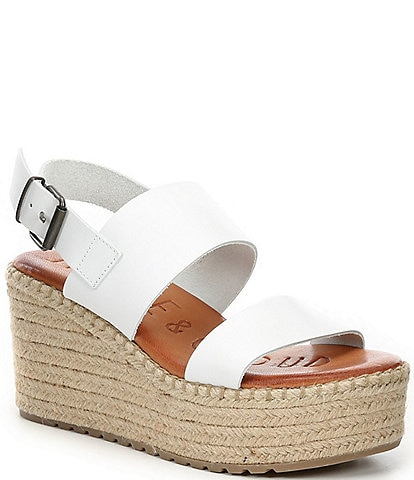 Musse & Cloud Sirita Leather Espadrille Sandals